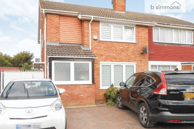 Thumbnail Semi-detached house to rent in Laburnum Grove, Langley, Slough