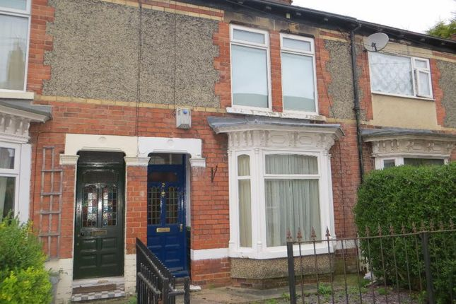 Thumbnail Terraced house to rent in Alendale, Goddard Avenue, Hull