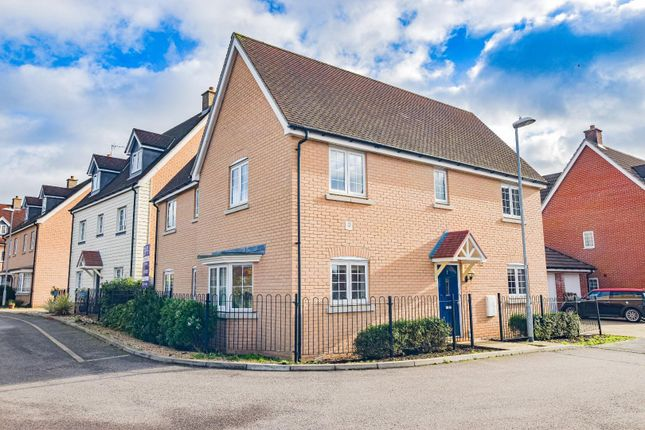 Thumbnail Detached house for sale in Clarke Close, Stansted