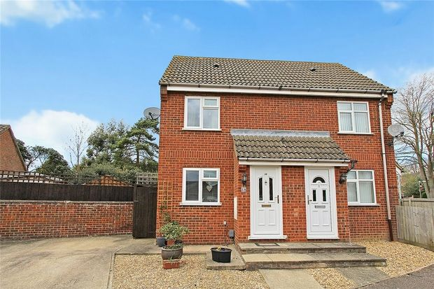 Thumbnail Semi-detached house for sale in Westwood Close, Shortstown, Bedfordshire