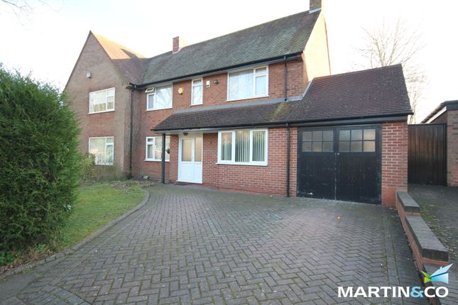 Thumbnail Semi-detached house to rent in Swarthmore Road, Bournville/Selly Oak