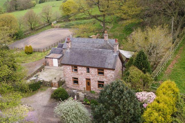 Thumbnail Farmhouse for sale in Rock House Farm, Heath House Lane, Horton, Leek