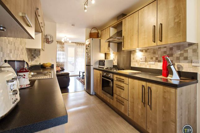 Thumbnail Town house to rent in Molyneux Square, Hampton Vale, Peterborough