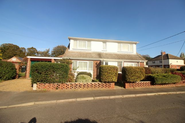 Thumbnail Detached bungalow to rent in Church Close, Cantley, Norwich