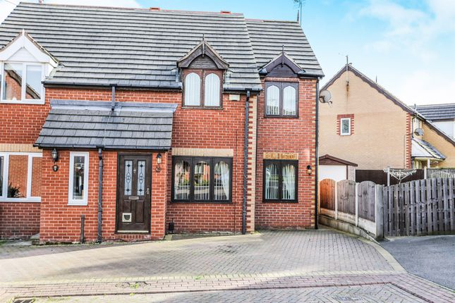 Thumbnail Semi-detached house for sale in Low Wood Close, Swinton, Mexborough