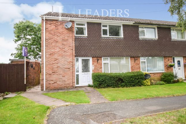 3 bed semi-detached house to rent in Green Lane Close, Seagrave, Loughborough LE12