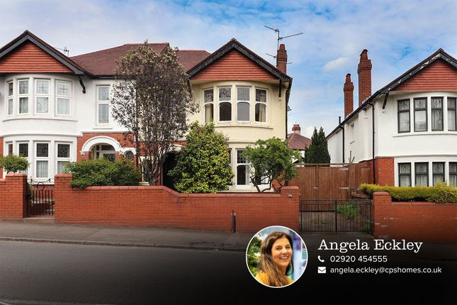 Thumbnail Semi-detached house for sale in Colchester Avenue, Penylan, Cardiff