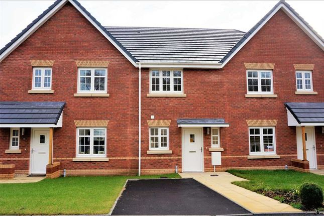 Thumbnail Terraced house for sale in The Pebble, Maes-Y-Ffynnon, Gorslas, Llanelli