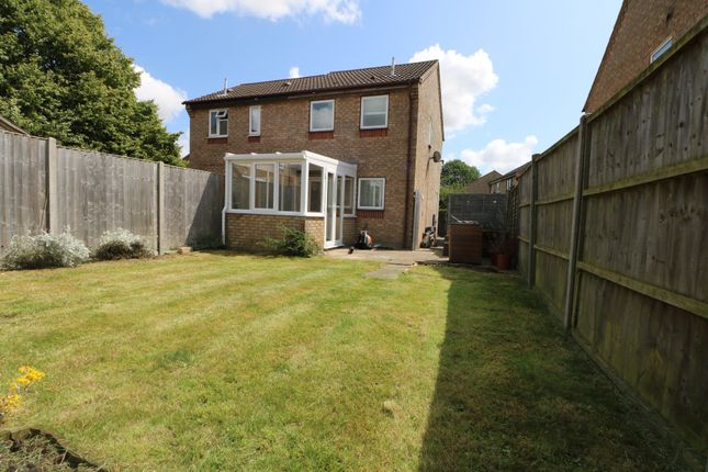 Thumbnail Semi-detached house to rent in Suffield Close, Long Stratton, Norwich
