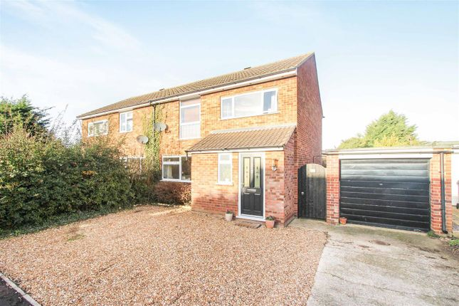Semi-detached house for sale in Mandeville Road, Brampton, Huntingdon