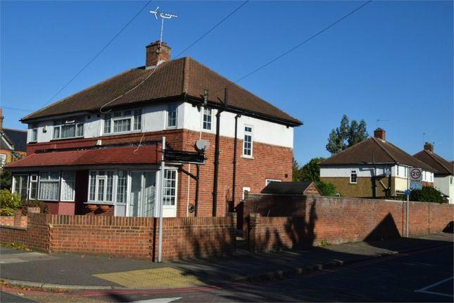 Thumbnail Semi-detached house for sale in Hampton Road West, Feltham