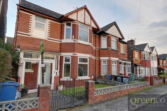 Thumbnail Semi-detached house to rent in Mowbray Avenue, Prestwich, Manchester