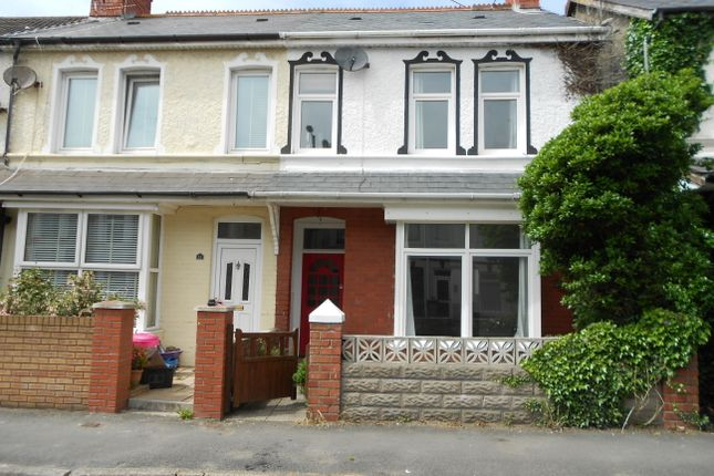 Thumbnail Terraced house to rent in Fenton Place, Porthcawl