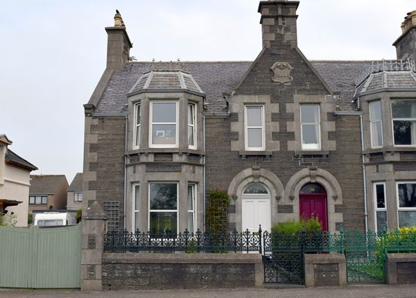 Thumbnail Semi-detached house for sale in Mossgiel, 34 Northcote Street, Wick