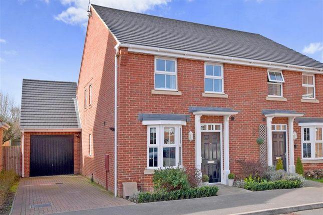 Thumbnail Semi-detached house for sale in Blakiston Close, Ashington, West Sussex