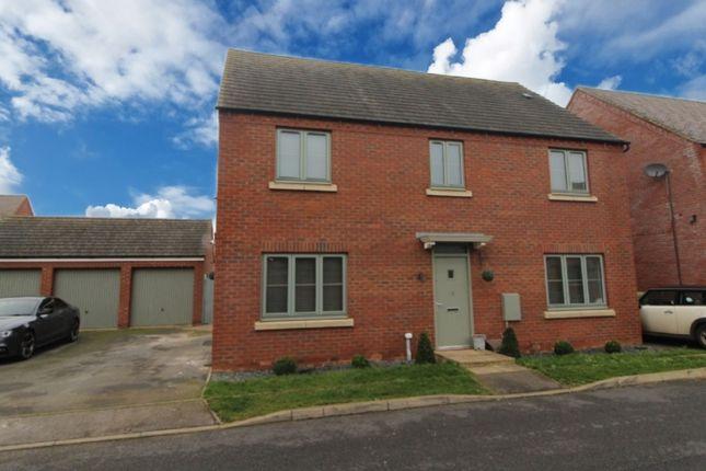 Thumbnail Detached house for sale in Fair Isle View, Oakridge Park, Milton Keynes.
