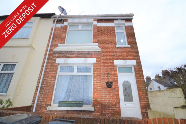 Thumbnail End terrace house to rent in Salisbury Road, Bexhill On Sea