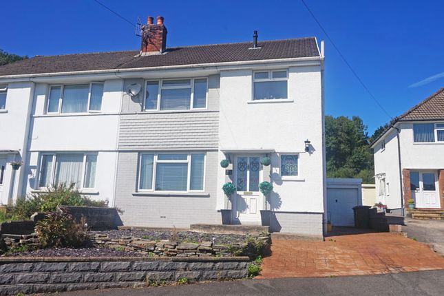 Thumbnail Semi-detached house for sale in Pen-Y-Cae, Ystrad Mynach, Hengoed