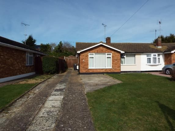 Thumbnail Bungalow for sale in Cromwell Way, Witham