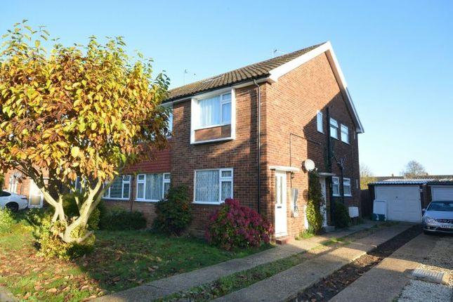 Thumbnail Maisonette to rent in Lavender Road, West Ewell, Epsom