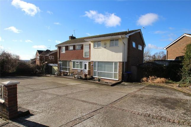 Thumbnail Detached house for sale in Longlands, Charmandean, Worthing