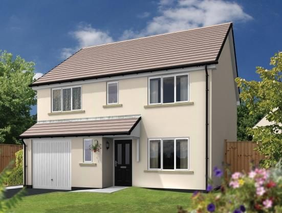Thumbnail Detached house for sale in Dobwalls, Liskeard, Cornwall