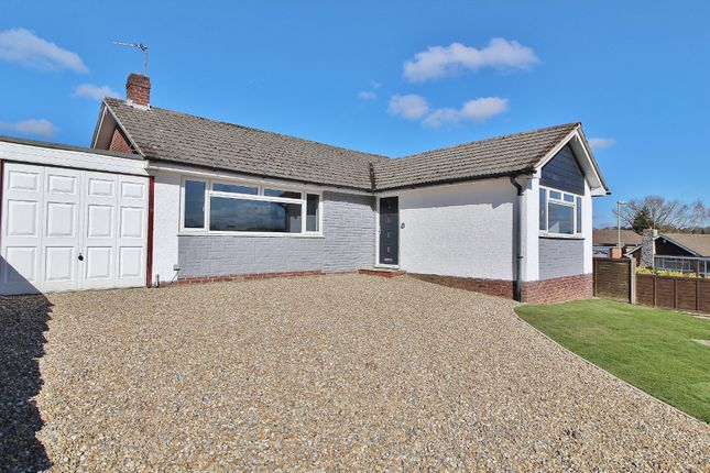 Thumbnail Detached bungalow to rent in Greenfield Rise, Cowplain, Waterlooville