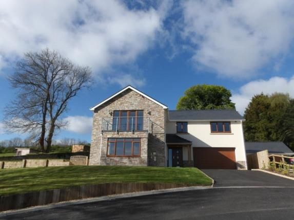Thumbnail Detached house for sale in Stamford, Pen Y Pyllau, Milwr, Holywell