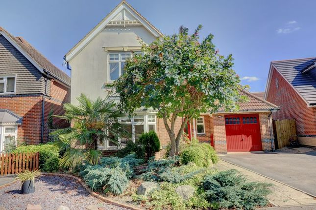 Thumbnail Detached house for sale in Campbell Road, Bramley, Tadley