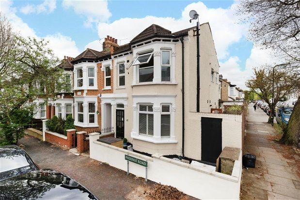 Thumbnail Maisonette to rent in Phoenix Road, London