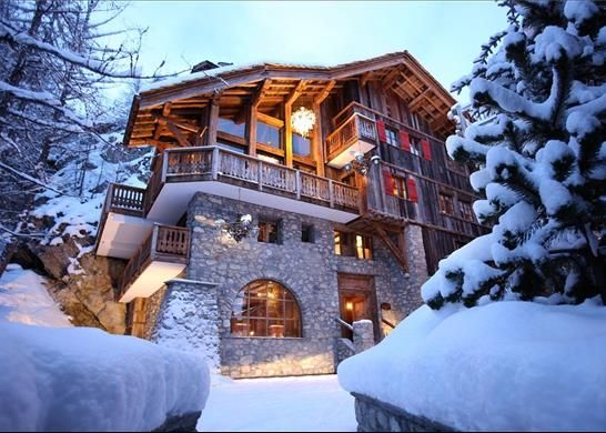 Thumbnail Detached house for sale in Val-D'isère, France