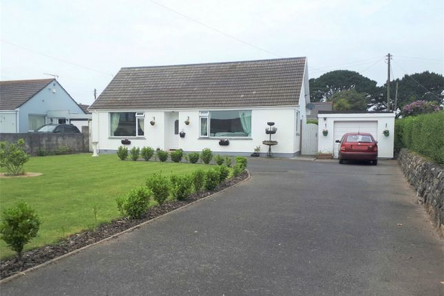 Thumbnail Detached bungalow for sale in United Road, Carharrack, Redruth
