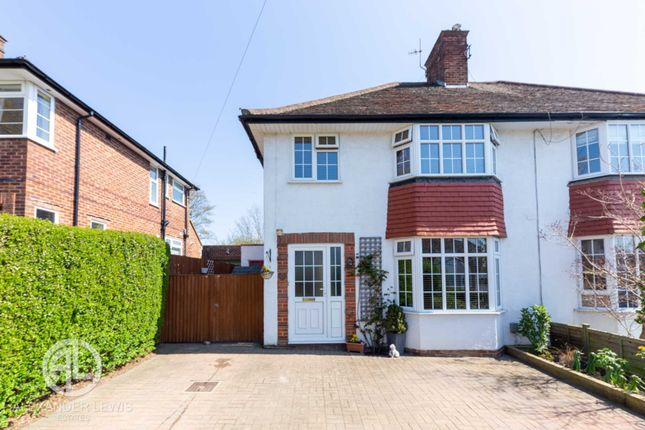 Thumbnail Semi-detached house for sale in Cowslip Hill, Letchworth Garden City