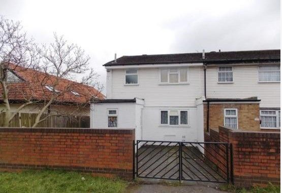 Thumbnail End terrace house to rent in Oakfield Road, Anerley