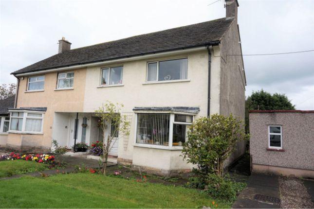 Thumbnail Semi-detached house for sale in Cockersand Drive Hala, Lancaster
