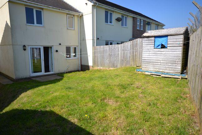 Rear Garden 2 of Beaufort Close, Plymouth, Devon PL5