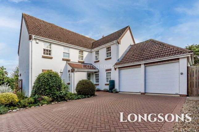 Thumbnail Detached house for sale in Captains Close, Swaffham