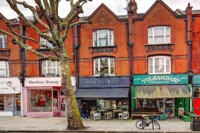 Exterior of Wandsworth Bridge Road, London SW6