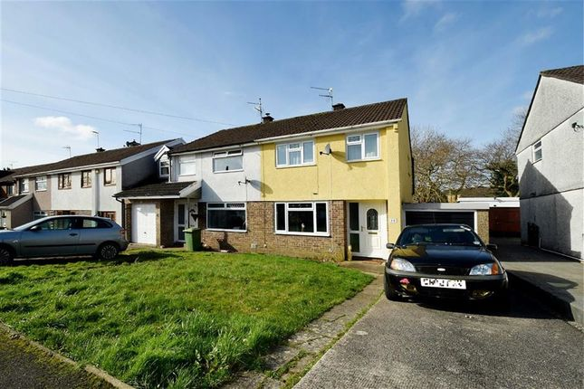Thumbnail Semi-detached house for sale in Towyn Way, Tonteg, Pontypridd