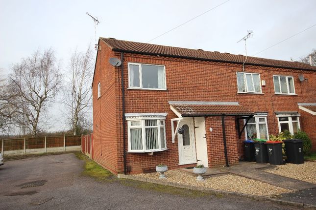 Thumbnail Terraced house to rent in St Mary's Walk, Jacksdale, Notts