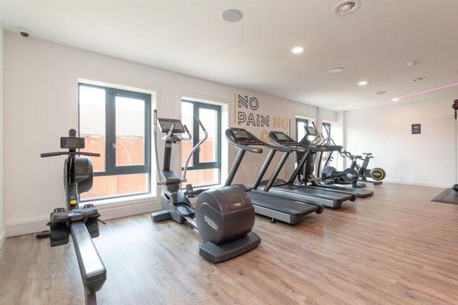Gym (2) of Oxbow, Back Hulme Street, Salford M5