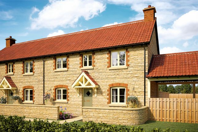 Thumbnail Semi-detached house for sale in The Kington, Cotswold Homes, Florence Gardens, Chipping Sodbury