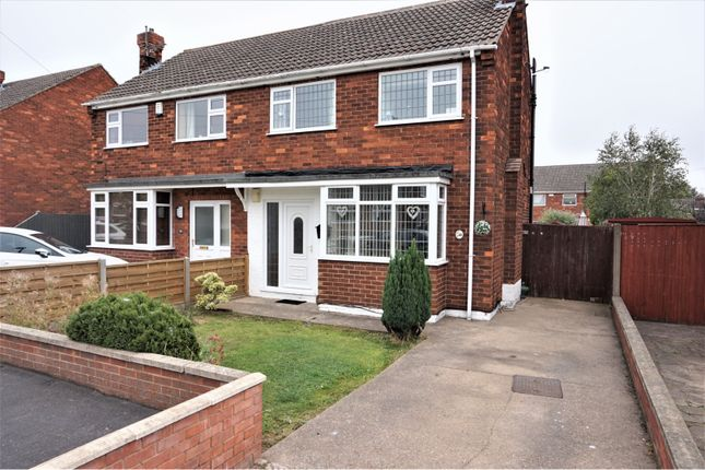 Thumbnail Semi-detached house for sale in Charles Avenue, Laceby