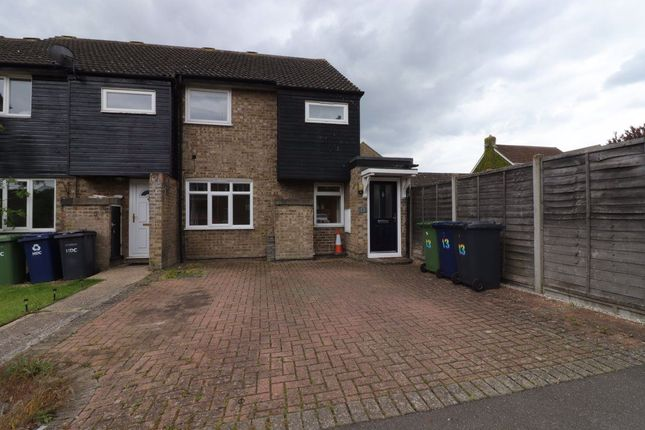 3 bed terraced house to rent in Marlborough Close, St. Ives, Huntingdon PE27