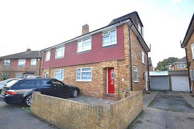 Thumbnail Semi-detached house for sale in The Garden, Bedfont