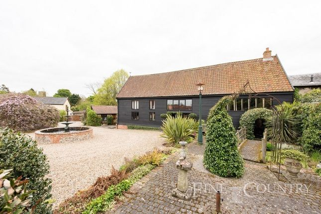 Thumbnail Barn conversion for sale in Low Road, Scole, Diss