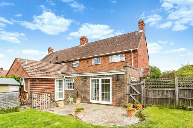 Thumbnail Semi-detached house to rent in St. Cross Road, Crondall, Farnham