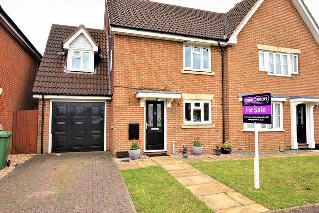 Thumbnail Semi-detached house for sale in Harris Close, Romford