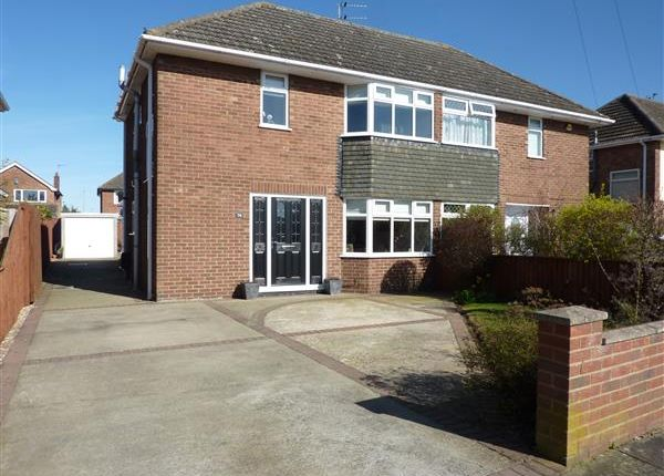 Thumbnail Semi-detached house for sale in Emfield Road, Scartho, Grimsby