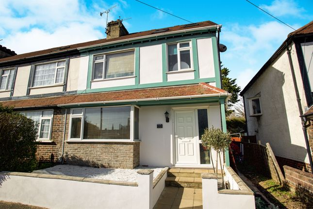Thumbnail End terrace house for sale in Vale Road, Portslade, Brighton